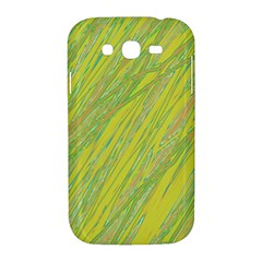 Green and yellow Van Gogh pattern Samsung Galaxy Grand DUOS I9082 Hardshell Case