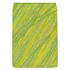 Green and yellow Van Gogh pattern Flap Covers (S)