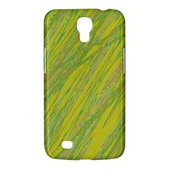 Green and yellow Van Gogh pattern Samsung Galaxy Mega 6.3  I9200 Hardshell Case