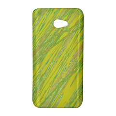 Green and yellow Van Gogh pattern HTC Butterfly S/HTC 9060 Hardshell Case