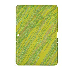 Green And Yellow Van Gogh Pattern Samsung Galaxy Tab 2 (10 1 ) P5100 Hardshell Case