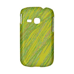 Green and yellow Van Gogh pattern Samsung Galaxy S6310 Hardshell Case