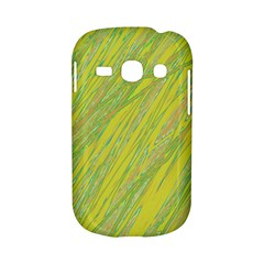 Green and yellow Van Gogh pattern Samsung Galaxy S6810 Hardshell Case