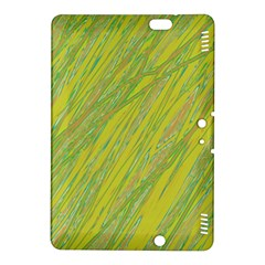 Green and yellow Van Gogh pattern Kindle Fire HDX 8.9  Hardshell Case