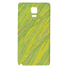 Green And Yellow Van Gogh Pattern Galaxy Note 4 Back Case