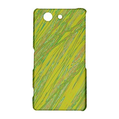 Green and yellow Van Gogh pattern Sony Xperia Z3 Compact