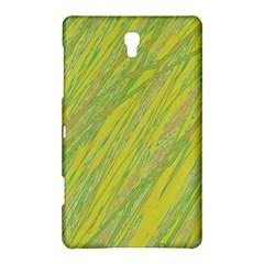 Green and yellow Van Gogh pattern Samsung Galaxy Tab S (8.4 ) Hardshell Case