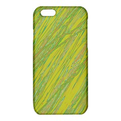 Green and yellow Van Gogh pattern iPhone 6/6S TPU Case