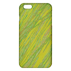 Green and yellow Van Gogh pattern iPhone 6 Plus/6S Plus TPU Case