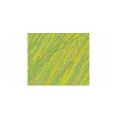 Green and yellow Van Gogh pattern Satin Wrap