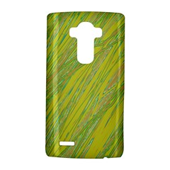 Green and yellow Van Gogh pattern LG G4 Hardshell Case
