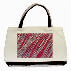 Purple decorative pattern Basic Tote Bag (Two Sides)