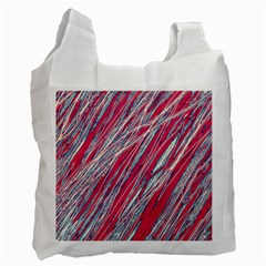 Purple decorative pattern Recycle Bag (Two Side)