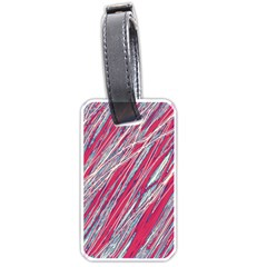 Purple decorative pattern Luggage Tags (Two Sides)