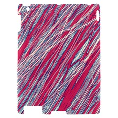 Purple decorative pattern Apple iPad 2 Hardshell Case