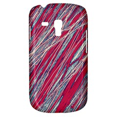 Purple decorative pattern Samsung Galaxy S3 MINI I8190 Hardshell Case