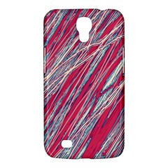 Purple Decorative Pattern Samsung Galaxy Mega 6 3  I9200 Hardshell Case