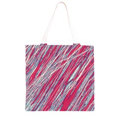 Purple decorative pattern Grocery Light Tote Bag