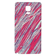 Purple decorative pattern Galaxy Note 4 Back Case