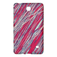 Purple decorative pattern Samsung Galaxy Tab 4 (7 ) Hardshell Case
