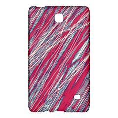 Purple decorative pattern Samsung Galaxy Tab 4 (8 ) Hardshell Case