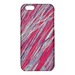 Purple decorative pattern iPhone 6/6S TPU Case