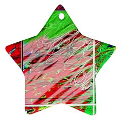 Colorful pattern Ornament (Star)