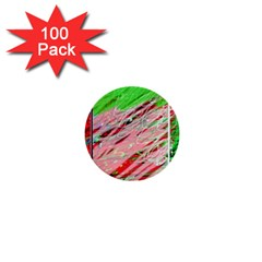 Colorful pattern 1  Mini Buttons (100 pack)