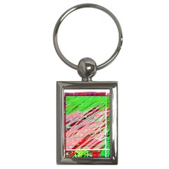 Colorful pattern Key Chains (Rectangle)