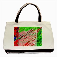 Colorful pattern Basic Tote Bag