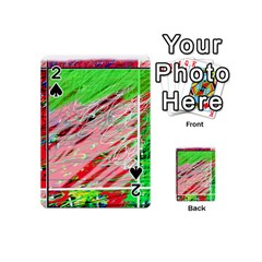 Colorful pattern Playing Cards 54 (Mini)