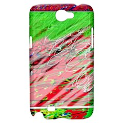 Colorful pattern Samsung Galaxy Note 2 Hardshell Case