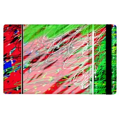 Colorful pattern Apple iPad 2 Flip Case