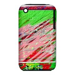 Colorful pattern Apple iPhone 3G/3GS Hardshell Case (PC+Silicone)