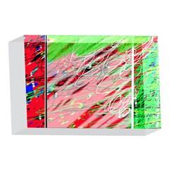Colorful pattern 4 x 6  Acrylic Photo Blocks