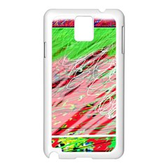 Colorful pattern Samsung Galaxy Note 3 N9005 Case (White)