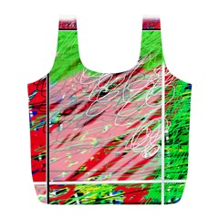 Colorful pattern Full Print Recycle Bags (L)