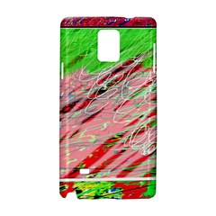 Colorful pattern Samsung Galaxy Note 4 Hardshell Case
