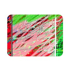 Colorful pattern Double Sided Flano Blanket (Mini)