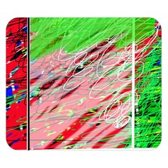 Colorful pattern Double Sided Flano Blanket (Small)
