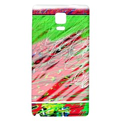 Colorful pattern Galaxy Note 4 Back Case