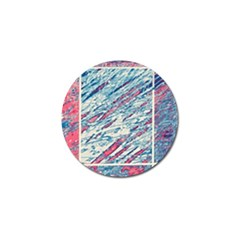 Colorful pattern Golf Ball Marker (10 pack)