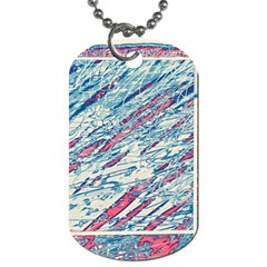Colorful pattern Dog Tag (Two Sides)