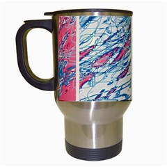 Colorful pattern Travel Mugs (White)