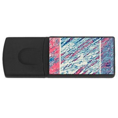 Colorful pattern USB Flash Drive Rectangular (4 GB)