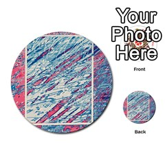 Colorful pattern Multi-purpose Cards (Round)