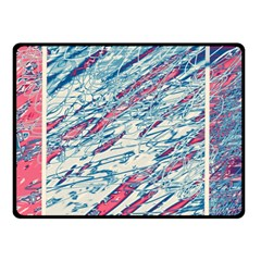 Colorful pattern Fleece Blanket (Small)
