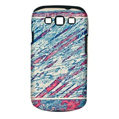 Colorful pattern Samsung Galaxy S III Classic Hardshell Case (PC+Silicone)