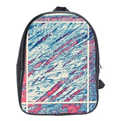 Colorful pattern School Bags (XL)