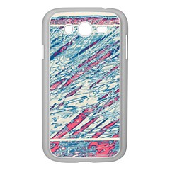 Colorful pattern Samsung Galaxy Grand DUOS I9082 Case (White)